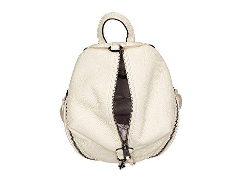 Minkoff Backpack Antique Convertible Julian Women's Mini White Rebecca A1FqBZpcB