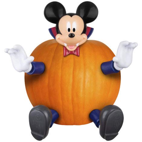 - Vampire Mickey Mouse Pumpkin Push-Ins Kit