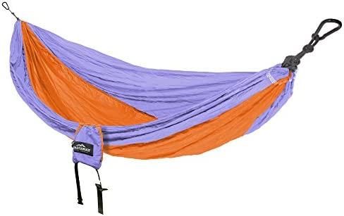 Castaway Travel Hammocks Double Travel Hammock with Loop Hanging Straps