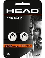 HEAD Unisex– Erwachsene Schlägerzubehör Pro Damp 2er Tennis Dämpfer