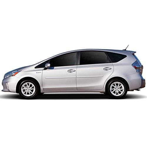 FE-PRI12-V Finished End Body Side Molding for Toyota Prius - BLIZZARD PEARL WHITE (070) ()