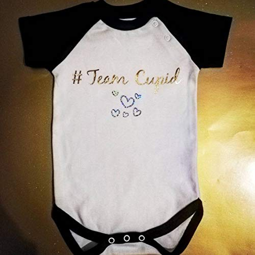 Cupid bodysuit valentines Day boys outfit, Valentines baby outfit