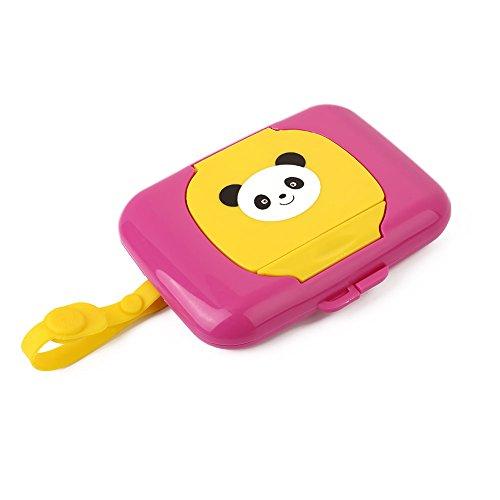 Hongch Linda del viaje toallita de bebé de la Niño Wet Wipes caja de cambio de titular dispensador casa para guardar…
