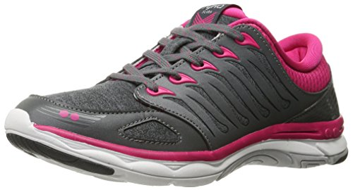 Grey FLORA Trainers Cross Ryka Women's Grey Pink C5q5YB