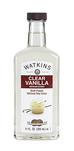 (Watkins Clear Vanilla Flavor Extract, 11 Ounce (Packaging may vary))