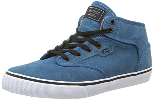 Globe Motley Mid - Zapatillas Hombre Azul - Blau (Sea Blue/White)