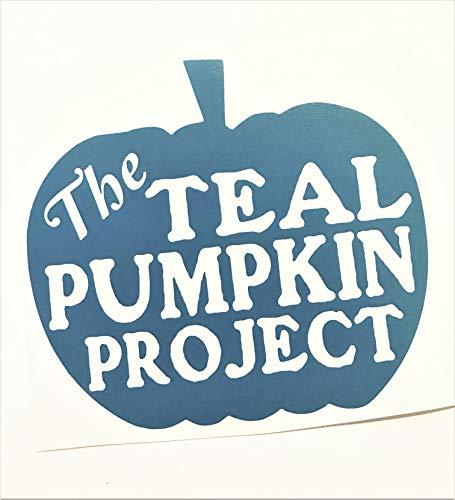 Teal Pumpkin | Allergy Friendly | Halloween Home door -