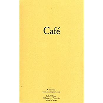 Cafe Note B6 Slim Tomoe River Journal Notebook 384 pages RULED