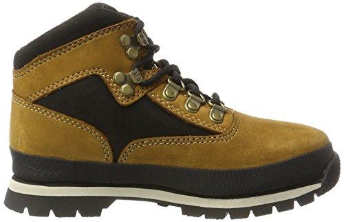 Timberland Kids Euro Hiker Chukka Boots, Braun (Trapper Tan), 33 EU