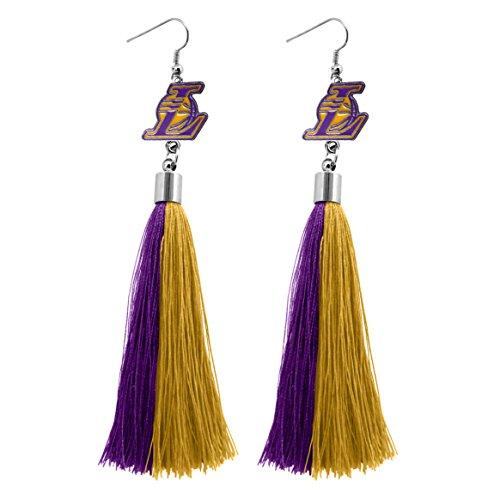 NBA Los Angeles Lakers Tassel Earrings