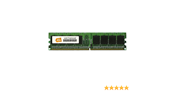 2x512MB PC3200 RAM Memory Upgrade Kit for the Dell Dimension 4600 1GB DDR-400