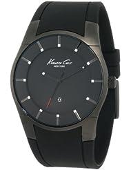 Kenneth Cole New York Mens Super-Sleek Collection Polyurethane Strap Watch #KC1557