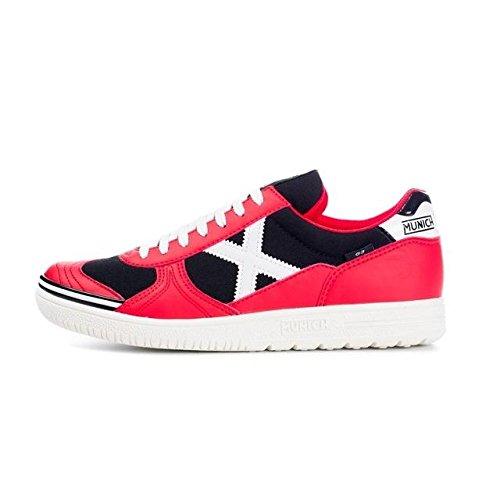Munich G3 Basic - Zapatillas deportivas para hombre, color rojo / negro / blanco
