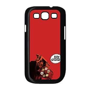 Samsung Galaxy S3 9300 Cell Phone Case Black Gorillaz Kids With Guns LV7007280