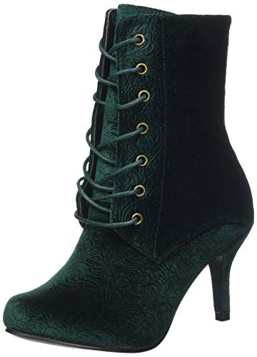 Joe Boots Velvet Magnificent Damen Stiefeletten Browns 7IqnIgfAr