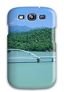 1367080K35815196 Pretty Galaxy S3 Case Cover/ Earth Landscape Series High Quality Case
