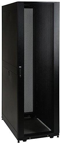 Tripp Lite 42U Knock-Down Standard-Depth Rack Enclosure Cabinet Kit, 3000-lb. capacity, Black ()
