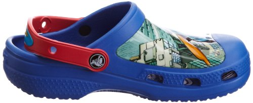 red Blue Kids Crocs Sabot E C Blu sea Zoccoli Clog Unisex Superman Bambino ZPnPW64H