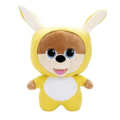 JiffPom CuteLife Collectable Plush Toy | Snuggly Bunny Edition | Collect All 4 JiffPom CuteLife Plushies | Stuffed Kids Toy | Super Soft | 10
