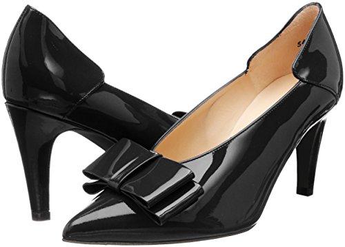 Negro schwarz Kaiser Para Punta Lack Peter 010 Mujer De Zapatos Cerrada Tacón Con Evora Uwq6S