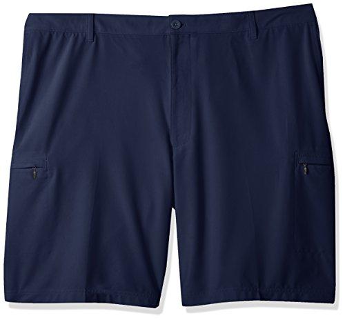 IZOD Men's Big and Tall Golf SwingFlex Cargo Short, Peacoat/Blue, 44