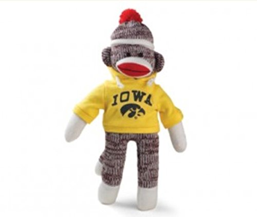 Plushland Iowa Sock Monkey Keychain