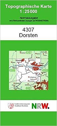 Dorsten N Topographische Karten 1 25000 Tk 25 Nordrhein Westfalen