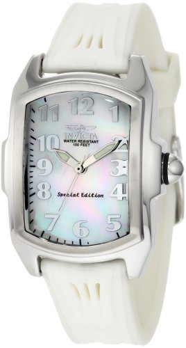Invicta Women's 0573 Lupah Collection Stainless Steel Interchangeable Strap Watch Set