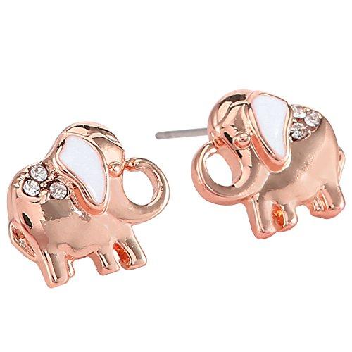 Elephant Gold Earrings - 6