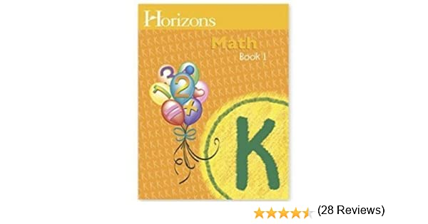 Horizons Mathematics K, Book 1 (Lifepac): Kindergarten ...