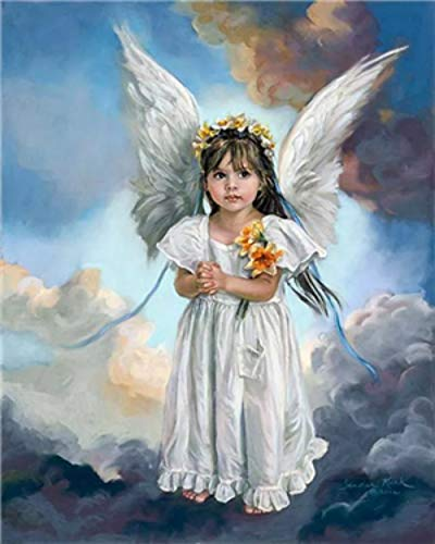 DIY 5D Diamond Painting Full Drilling Embroidery Rhinestone Paste Angel1 DIY Painting Cross Stitch Household A Living…