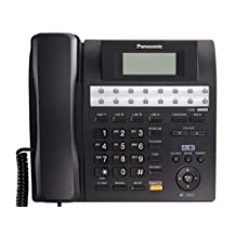 Panasonic KX-TS4200B 4-Line Integrated Phone System Expandable up to 16 Stations with Speakerphone, Black
