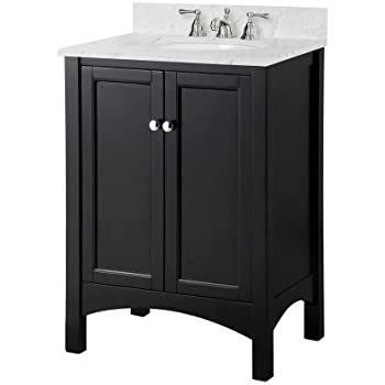 foremost trea2418 haven 24 inch width x depth x 34 inch height vanity cabinet. Black Bedroom Furniture Sets. Home Design Ideas