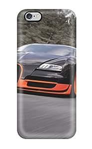 8656667K60649618 Tough Iphone Case Cover/ Case For Iphone 6 Plus(bugatti Veyron)