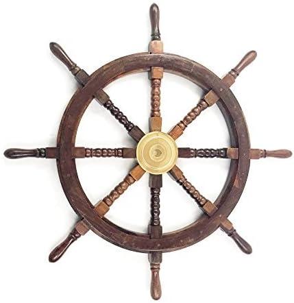 INDIA OVERSEAS TRADING CORP 36 inch Ship Wheel
