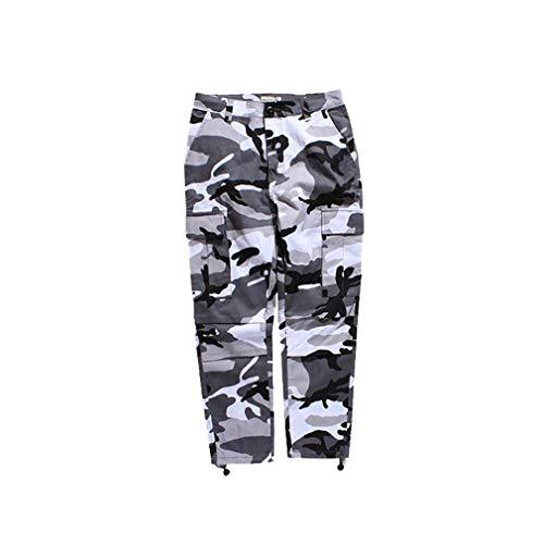 Cargo Pantalon Baggy Gris Camo Unisexe Casual Danse Weimeite Hommes Femmes Hiphop Pantalons Streetwearjoggers Jogging qwvX6C
