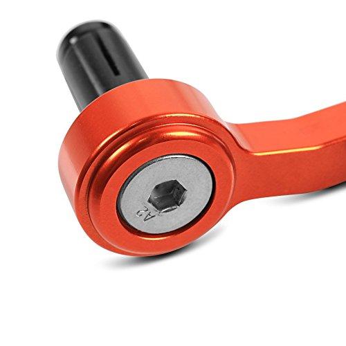 Hebelsch/ützer Set f/ür KTM 690 Duke R Motea LP1 orange