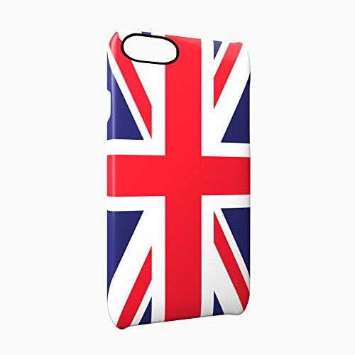 Flag of United Kingdom Glossy Hard Snap-On Protective iPhone 7 Case Cover