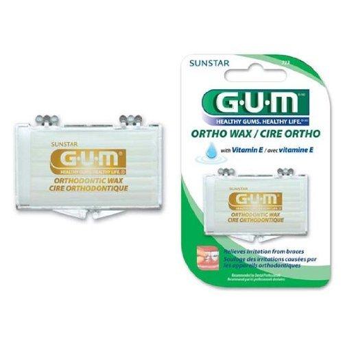 - Butler G-U-M Orthodontic Wax - 723R, 1 Ea, 6 packs