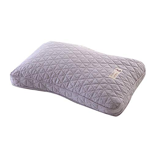 Jiaxiang Traditional Healthy Herb Pillow with Buckwheat or Millet Hull Filling (Gray, Millet Hull) ()