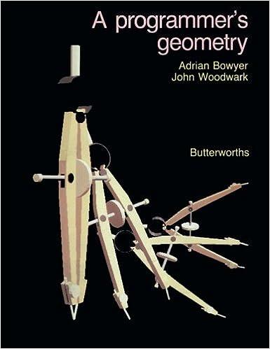 A Programmer's Geometry