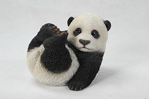 Hi-Line Gift 87768-B Baby Panda Playing Statue