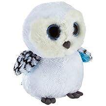 TY Beanie Boos - SPELLS the White Owl ( Buddy Size - 8.5 inch )
