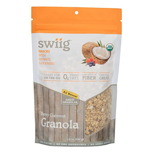 swiig Organic Berry Coconut Granola