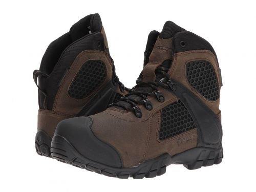 Bates Footwear(ベイツ) メンズ 男性用 シューズ 靴 ブーツ 安全靴 ワーカーブーツ Shock FX Canteen [並行輸入品] B07DNQGFL9 10.5 D Medium