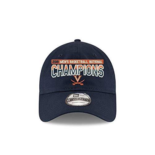 New Era Virginia Cavaliers 2019 NCAA Men's Basketball National Champions Basic 9TWENTY Adjustable Hat - Navy