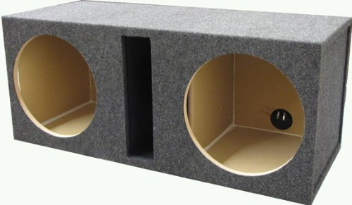 R/t 328.10 Empty Woofer Enclosure Obcon Dual 10 Slot Vented;mdf