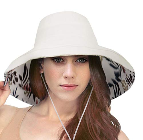 Simplicity Large Wide Brim Sun Hat for Women Summer Hats for Beach Garding ()