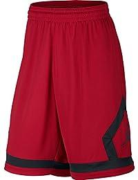 Nike mens FLIGHT DIAMOND SHORT 799543-687_S - GYM RED/BLACK/BLACK