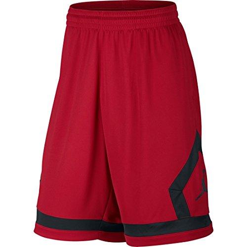 Basket Rouge Gym Diamond noir Short Nike noir De Flight qPIUUX